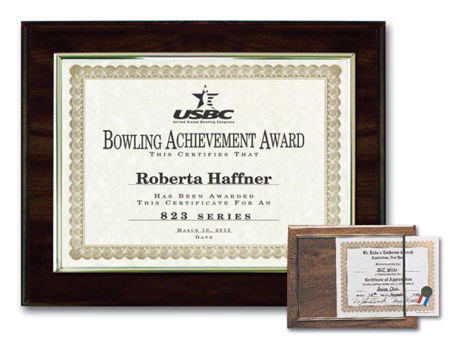 Picture for category Certificate Plaques and Frames