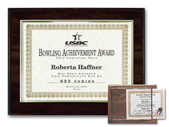 "Picture of E-Z Recognition Plaques(11.5"" x 17"")"